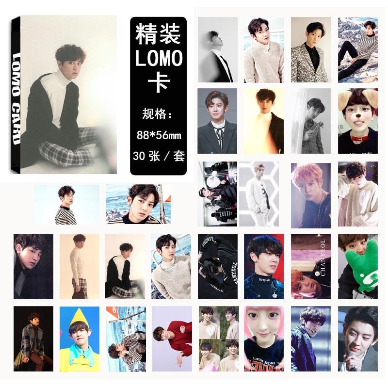 Lomo card set EXO FOR LIFE-CHNAYEOL (30pc)