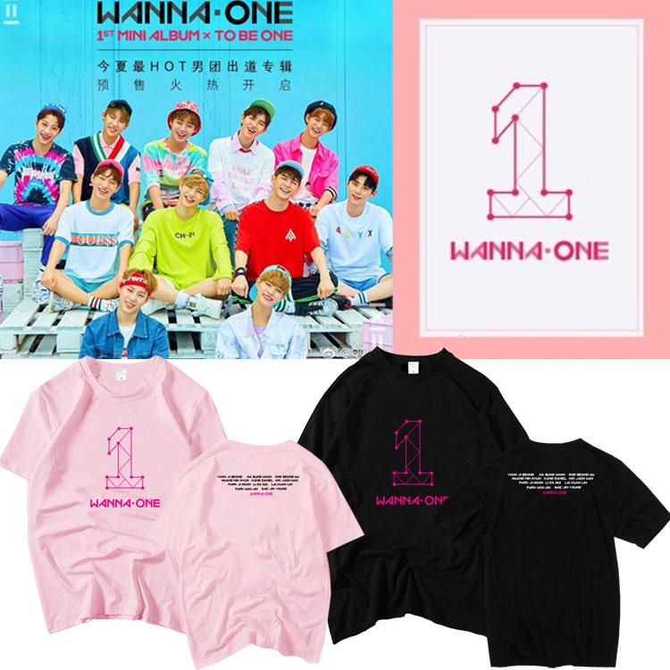 เสื้อยืด WANNA ONE TO BE ONE -ระบุสี/ไซต์-