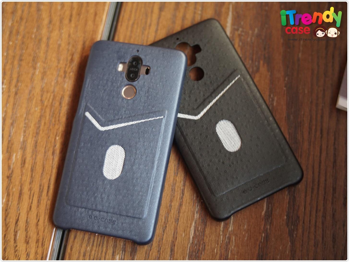 Huawei Mate9 - เคสหนังอย่างดี พร้อมช่องใส่บัตร G-CASE