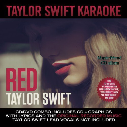 Taylor Swift Red Karaoke [CD+DVD, Karaoke]