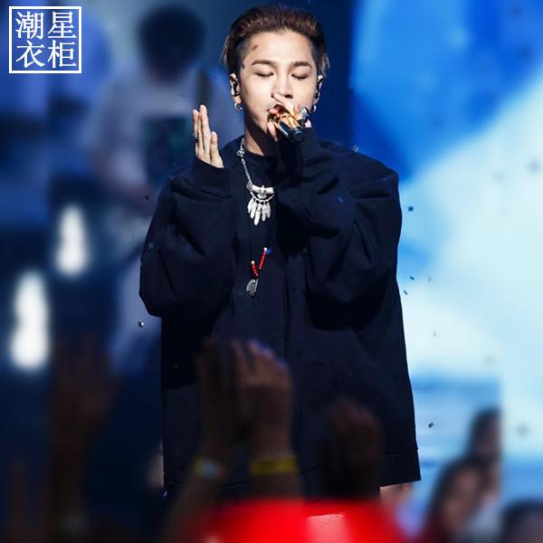 เสื้อแขนยาว DARK BLACK Sty.Taeyang-ระบุไซต์-