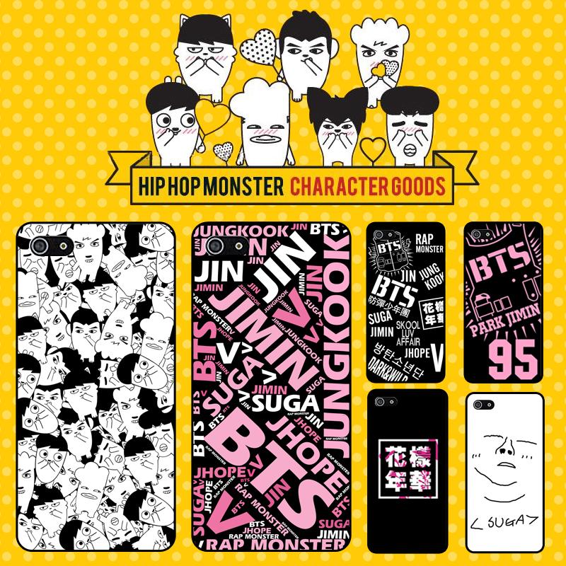 เคสโทรศัพท์ BTS Hiphop monster -ระบุรุ่น/หมายเลข-