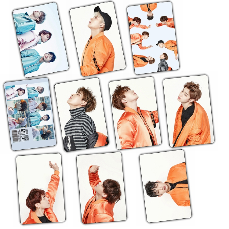 Sticker Card set GOT7 FLY (B/10pc)
