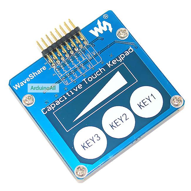 Capacitive Touch Keypad Module สวิตช์สัมผัส