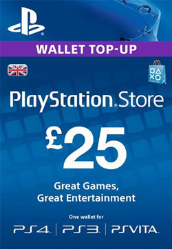PSN Card UK £25