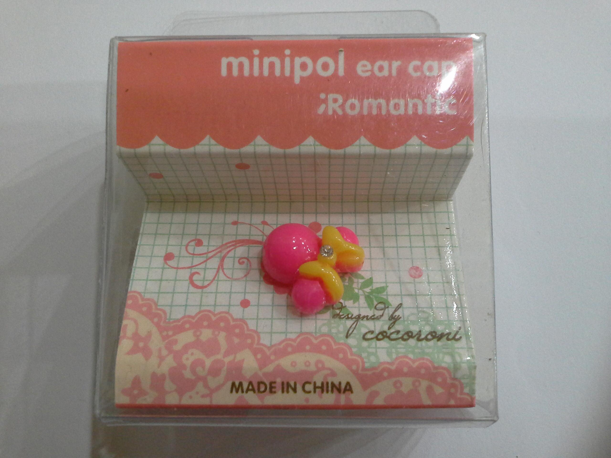 จุกเสียบ Minipol ear cap Romantic แบบ 2