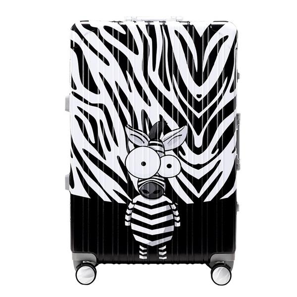 *Pre Order*กระเป๋าเดินทางแบบล้อ/ Trouser Trolley Box Board Box 20-24-28 inch /Silver