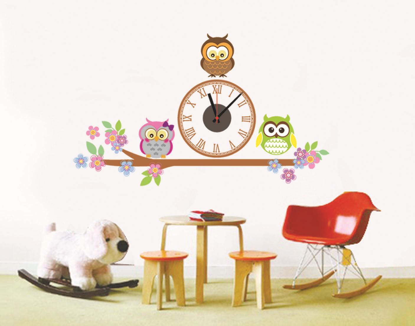 นาฬิกาพร้อมสติกเกอร์ CD871