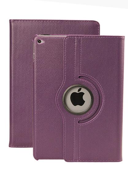 เคสไอแพด Ipad Air 2 ( Purple ) หมุนได้ 360 องศา
