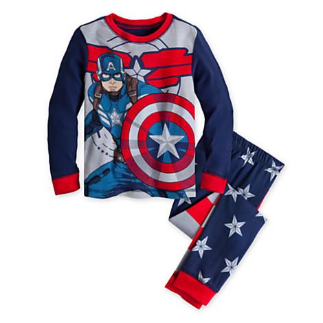 z Captain America PJ Pal for Boys