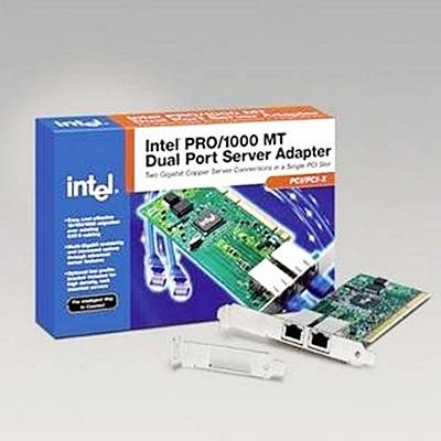 Intel PRO/1000 MT Dual Port Server