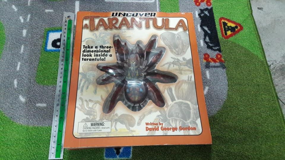หนังสือ Uncover a Taratula