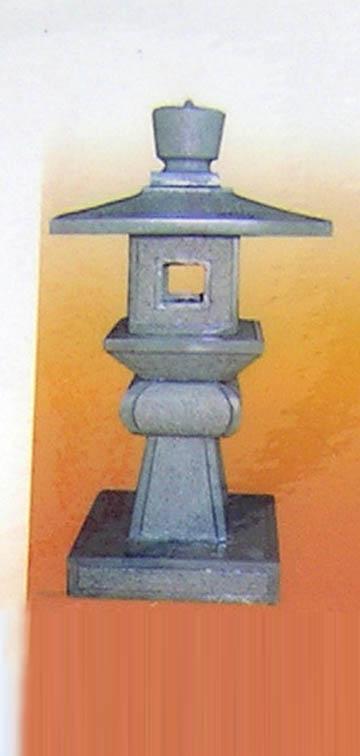 เสาโคมแกะสลักหินอ่อน ประดับ สวน สูง 80 เซนติเมตร