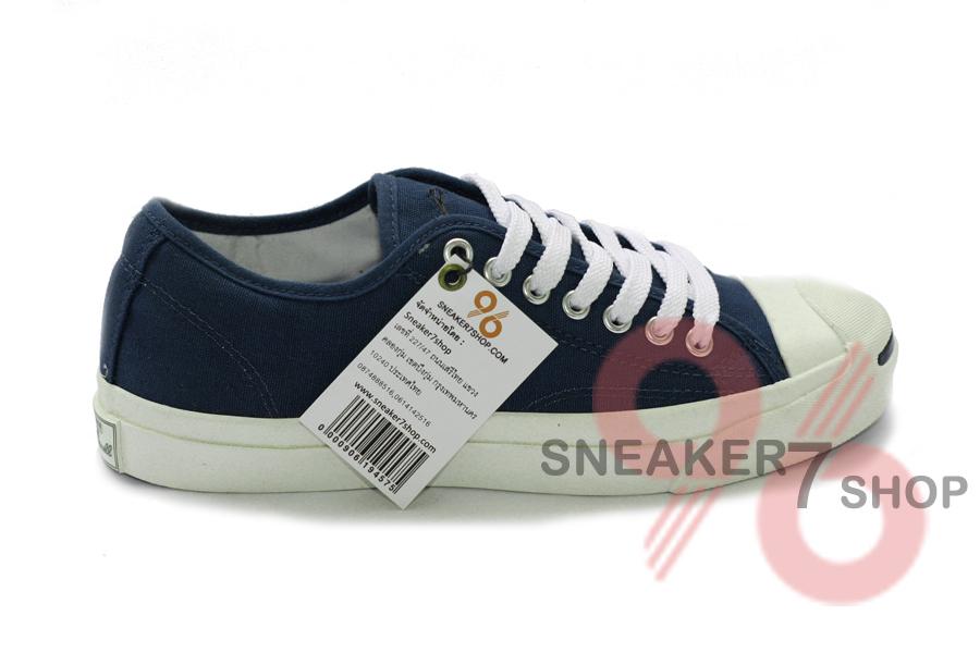 รองเท้า Converse Jack Purcell สีกรม ผู้ชาย ผู้หญิง Shoes Size 36-44 พร้อมกล่อง