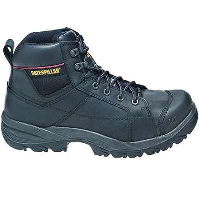 รองเท้า หัวเหล็ก Caterpillar Men's Black Crossrail 90201 Steel Toe Work Boots Size 40-46