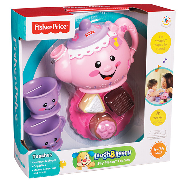 z Fisher Price Laugh and Learn Say Please Tea set