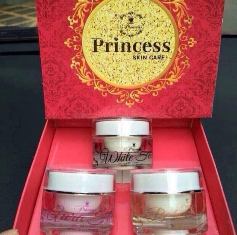 (ส่งฟรีEMS)Princess White Skin Care ครีมหน้าเงา หน้าขาว หน้าเด็ก