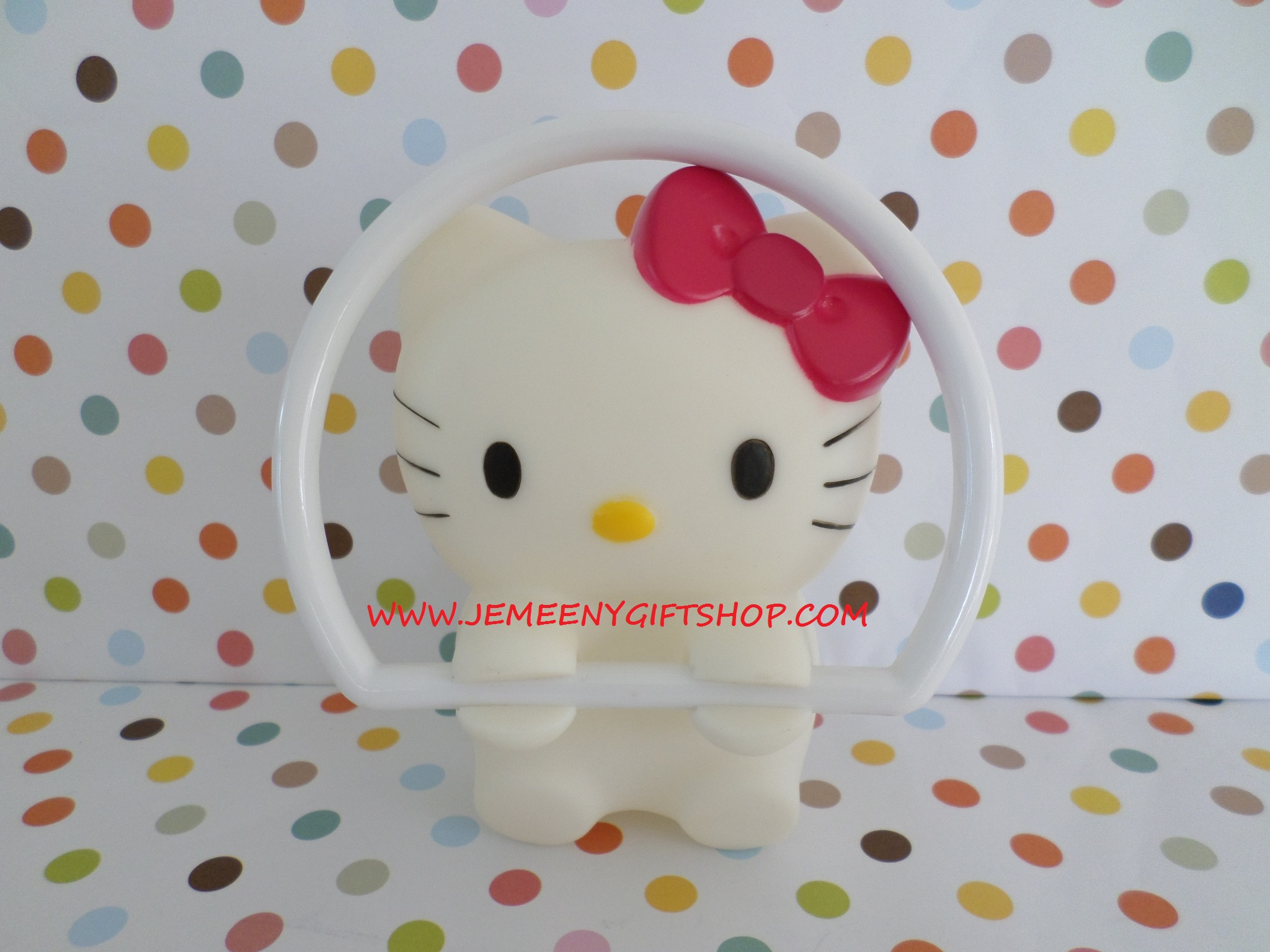 ใช้แขวนผ้าเช็ดตัว ผ้าขนหนู ในห้องน้ำ ฮัลโหลคิตตี้ Hello kitty