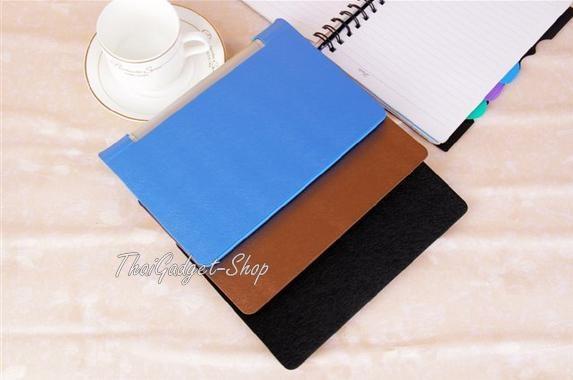 """เคส Lenovo YOGA B6000 8"""" Stand Leather Case ตรงรุ่น"""