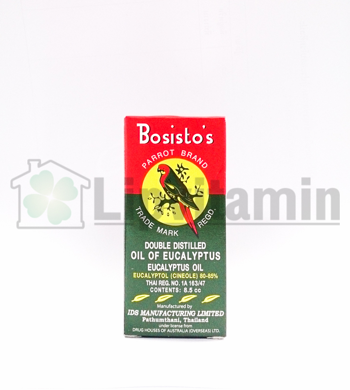 Eucalyptus Oil Parrot Brand 8.5 cc [เล็ก]