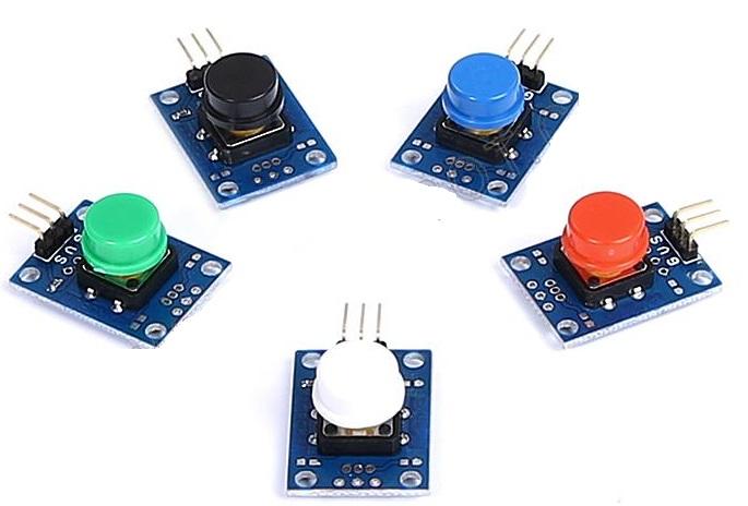 5 Color Button Modules (คละสี)