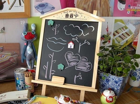 Blackboard Small House