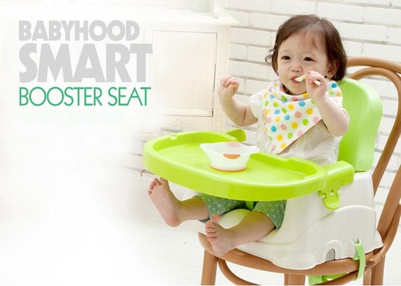 เก้าอี้นั่งทานข้าวเด็ก Babyhood (Babyhood Smart Booster Seat)