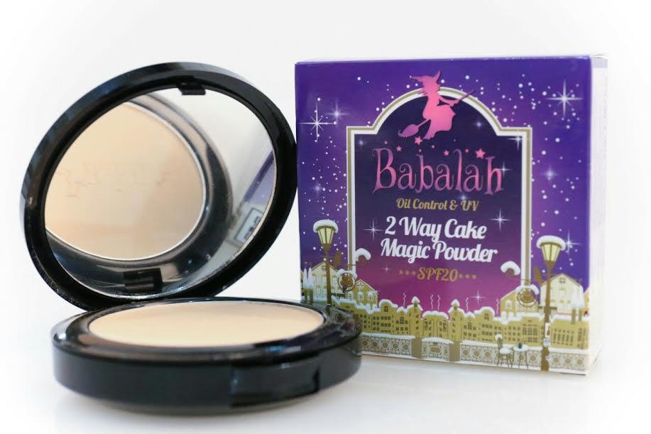 New !!! Babalah magic powder Oil Control & UV 2 Way Cake Magic Powder SPF 20 แป้งควบคุมความมัน สูตรใหม่ จากบาบาร่า