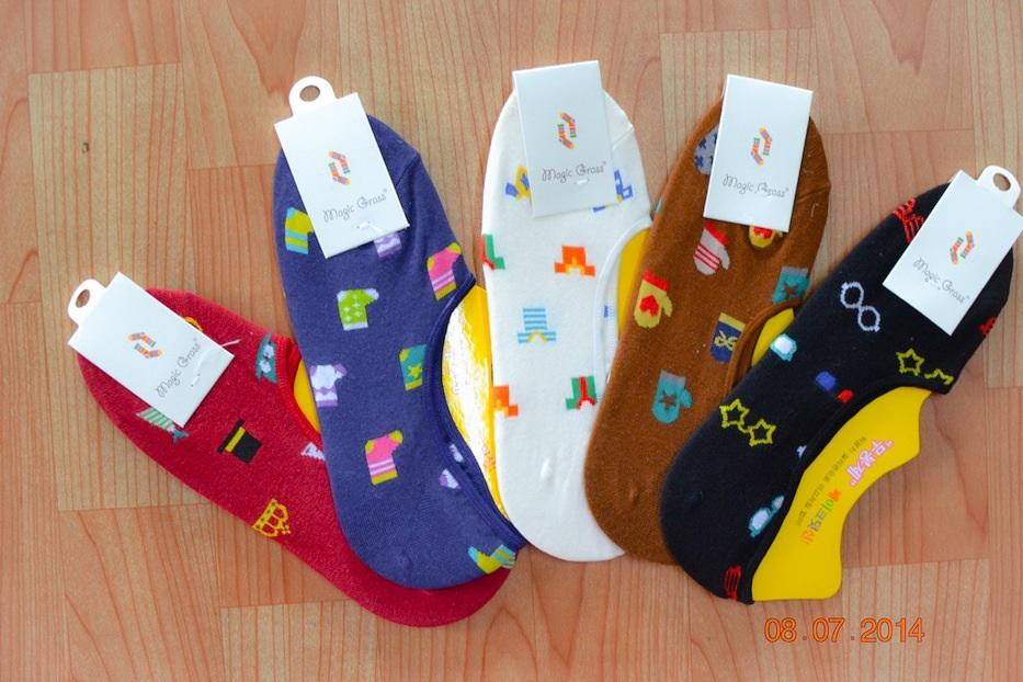 S231 **พร้อมส่ง** (ปลีก+ส่ง) ถุงเท้าคัทชู แฟชั่นเกาหลี มี 5 สี(แบบ) เนื้อดี งานนำเข้า(Made in China)