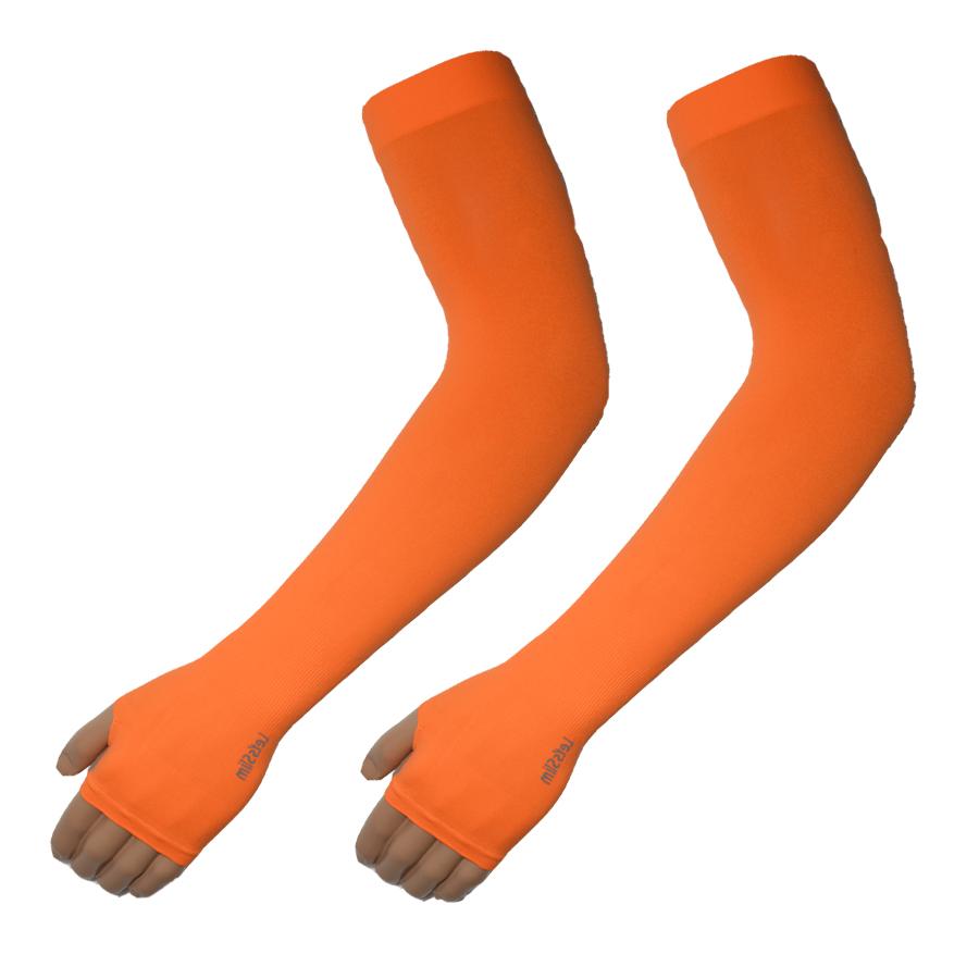 ปลอกแขน Let's Slim สีส้ม (Orange)