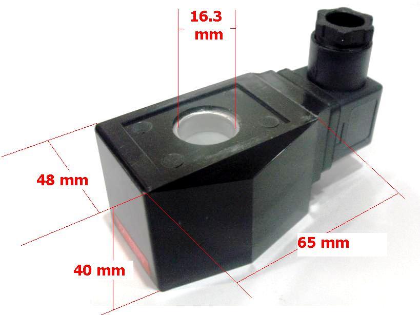 คอยล์ (Coil) 220 VAC สำหรับ Solenoid รูแกนกลาง 16.3 ม.ม.(Big)