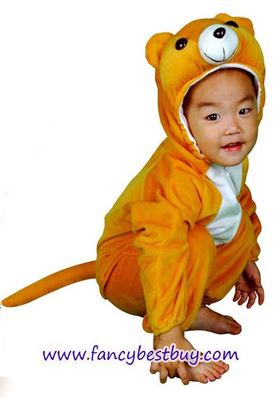 ชุดแฟนซีหมี Bear ชุดแฟนซีสัตว์เด็กหรือชุดมาสคอต สำหรับการแสดง ใช้ได้ทั้งเด็กชายหญิง มี ขนาด M, XL