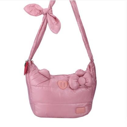 กระเป๋า HELLO KITTY สีชมพู (ของแท้ลิขสิทธิ์)
