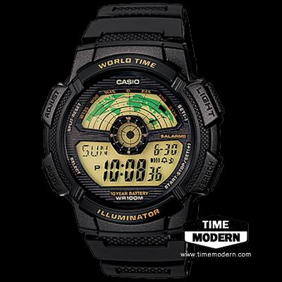 นาฬิกา Casio Standard 10 Year battery-Digital รุ่น AE-1100W-1BVDF