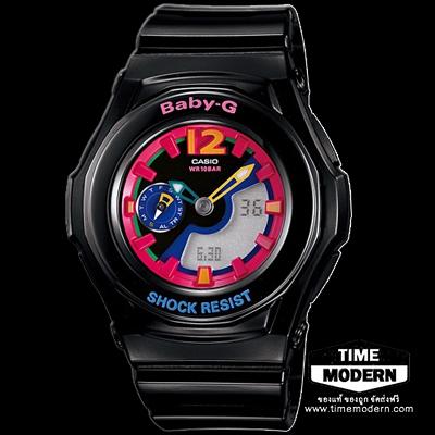 นาฬิกา Casio Baby-G standard Ana-Digi รุ่น BGA-141-1B2DR