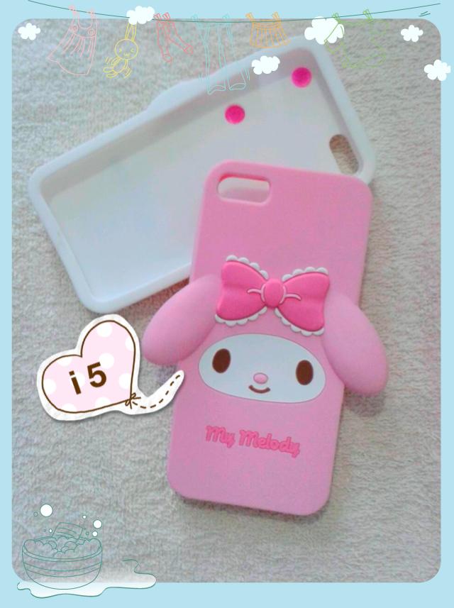 Sanrio Hello kitty & My melody มาใหม่ค่ะ ไอโฟน 5