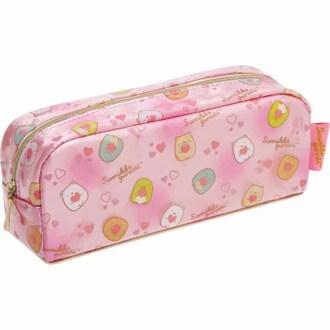กระเป๋าดินสอ Sumikko Gurashi สีชมพูเข้ม