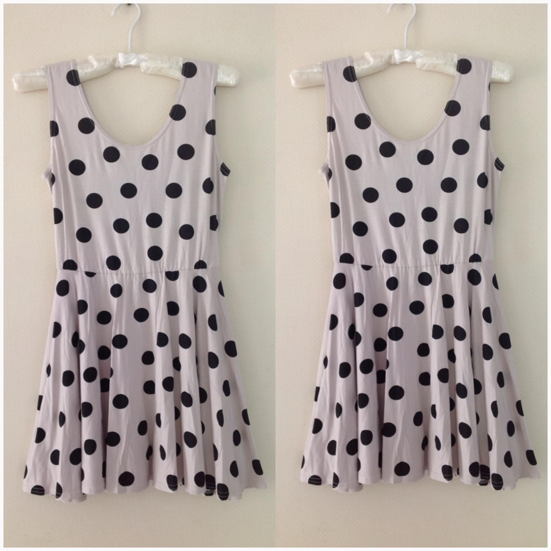 Topshop Polkadot Dress Size uk10-12