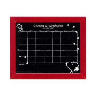 กระดานดำ ตาราง 1 เดือน Snoopy