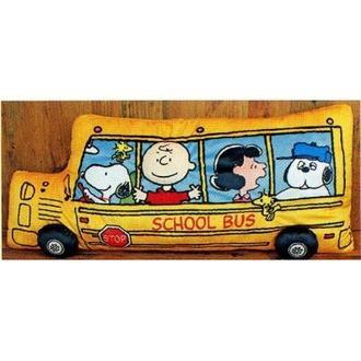 หมอนยาว รถบัส Snoopy