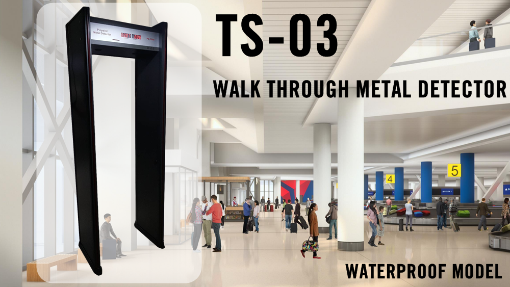 Walk through metal detector TS-03