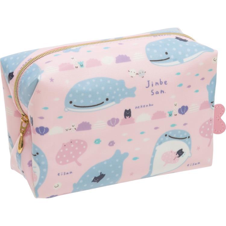 กระเป๋าใส่ของ Jinbei-san สีชมพู