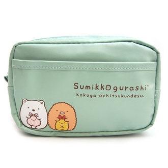 กระเป๋าใส่ของเดินทาง Sumikko Gurashi สีฟ้า